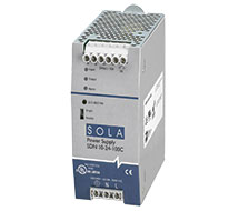 Compact DIN Rail Mount Power Supplies SDN-C Compact Series
