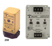 Three-Phase Voltage Monitors 258, 269