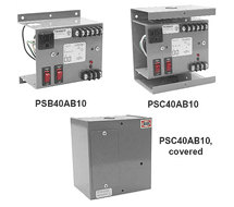 Functional Devices Enclosed 24 VAC Class 2 Power Source PSB40AB10, PSB100AB10, PSC40AB10, PSC100AB10