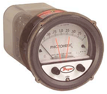 Photohelic Differential Pressure Switch / Gauge 3000 Series