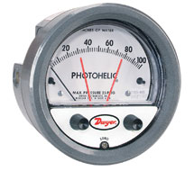 Photohelic Differential Pressure Switch / Gauge 3000MR Series