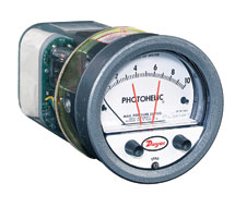 Photohelic® Pressure Switch/Gage A3000 Series