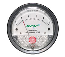 Low Cost Differential Pressure Gauge K2000 Series