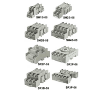 IDEC Relay Sockets SH, SJ, SR Series