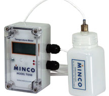 Minco Thermal Vial Temperature Sensing System AS10 Series