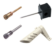 KELE Universal-Mount Thermistor and RTD Sensors KTU* Series