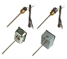 KELE Immersion Thermistor and RTD Sensors KTW* Series