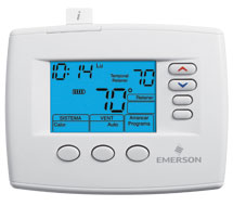 Blue™ Light Commercial and Residential Programmable/Non-Programmable Thermostats 1F80, 1F85 Light Commercial Thermostats