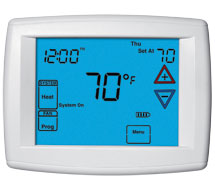 Big Blue™ and Blue™ Universal and Single Stage Programmable/Non-programmable Thermostats 1F95, 1F95EZ and 1F97 Series Thermostats