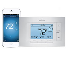 Programmable Multi or Single Stage Wi-Fi Thermostat 1F86U-42WF Series