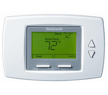 Honeywell Digital Fan Coil Thermostat TB6575, TB8575 SuitePro™ Series