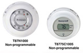 Residential Thermostats, Non-programmable T87, T8775 Series