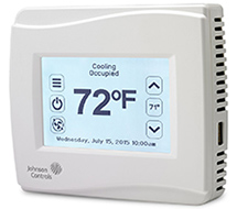 Communicating Thermostat (BACnet MS/TP, N2) TEC 3600 Communicating