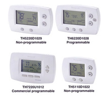 FocusPro™ Residential and Light Commercial Thermostats TH5000, TH6000, TB7000 Series