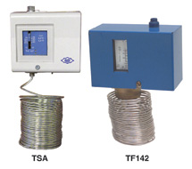 Low-Limit Temperature Controls TSA, TF142