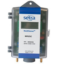 Multi-Range Differential Pressure Transducer Setra MR1, MR2 Series