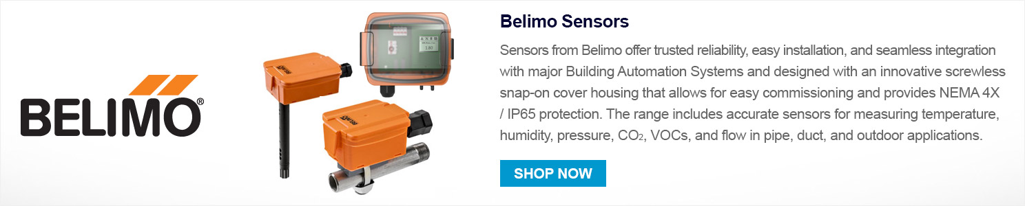 Click here to shop the range of Belimo Sensors today!