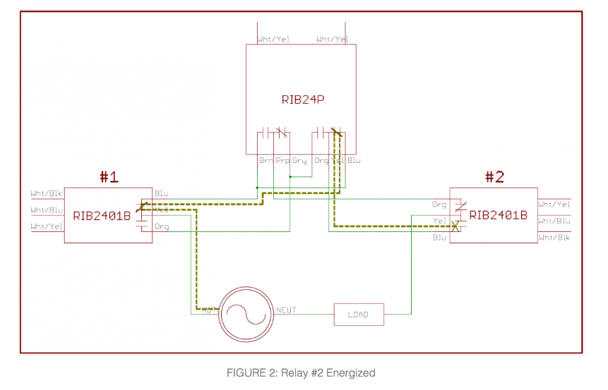 Rib Relay Wiring Diagram from www.kele.com